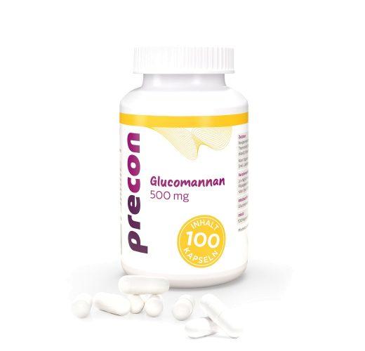 Glucomanano 500 cápsulas