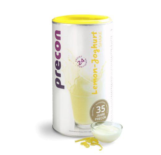 Batido de yogur de limón