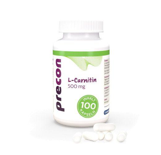 L-carnitina 500 cápsulas